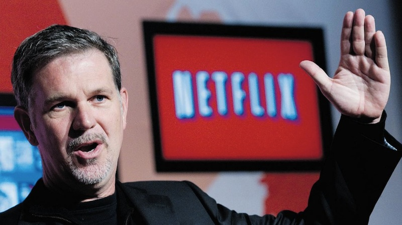 Reed Hastings, co-founder e CEO di Netflix
